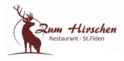 Hirschen Logo transparent rot